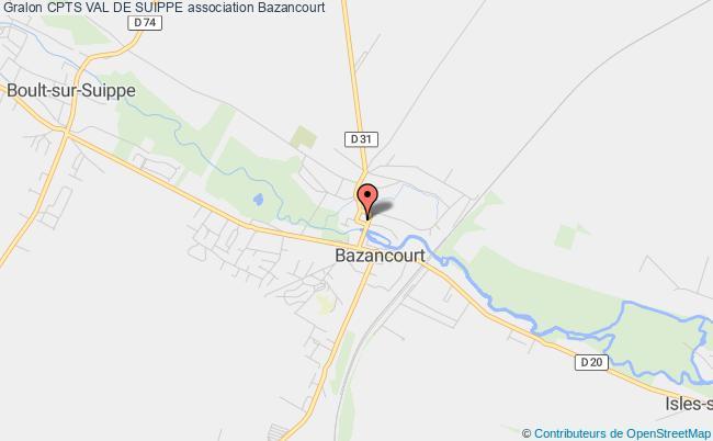 plan association Association Locale Des Professionnels De SantÉ Du Nord Grand Reims