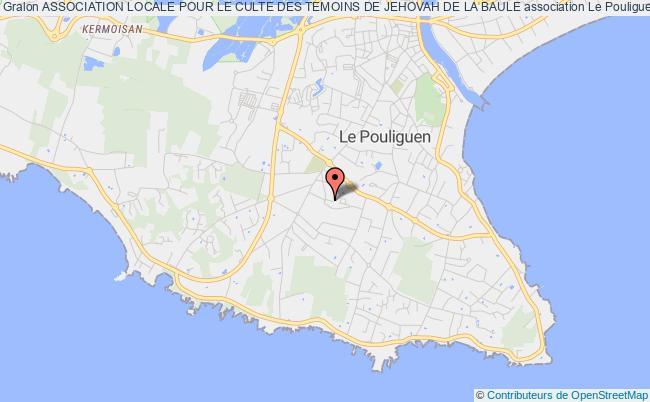 plan association Association Locale Pour Le Culte Des Temoins De Jehovah De La Baule