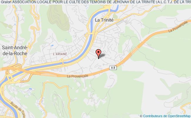 plan association Association Locale Pour Le Culte Des Temoins De Jehovah De La Trinite (a.l.c.t.j. De La Trinite)