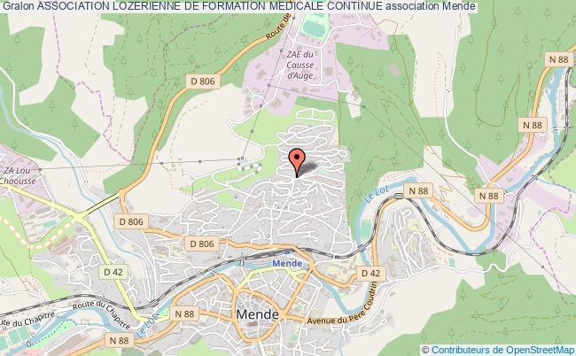 plan association Association Lozerienne De Formation Medicale Continue
