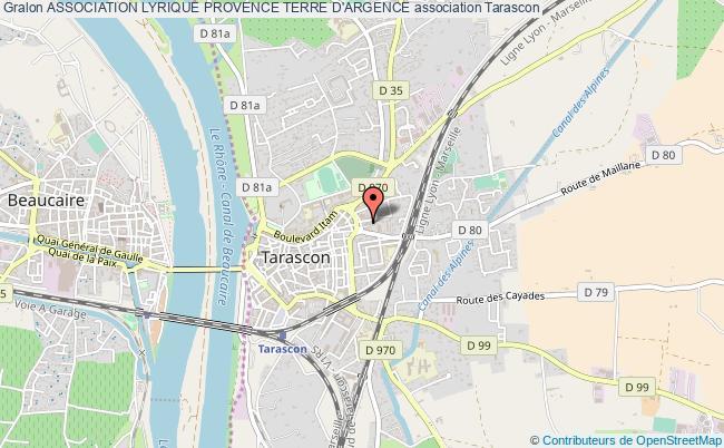 plan association Association Lyrique Provence Terre D'argence