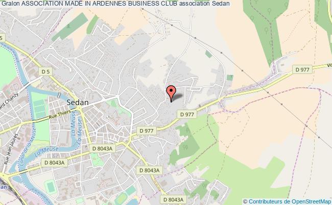 plan association Association Made In Ardennes Business Club