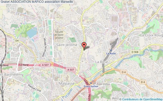 plan association Association Mafico Marseille