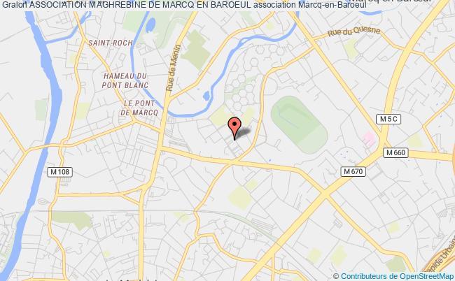 plan association Association Maghrebine De Marcq En Baroeul