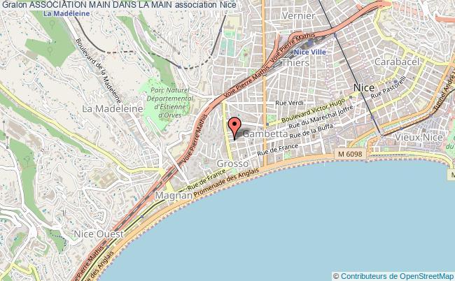 plan association Association Main Dans La Main Nice