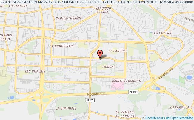 plan association Association Maison Des Squares Solidarite Interculturel Citoyennete (amsic) Rennes