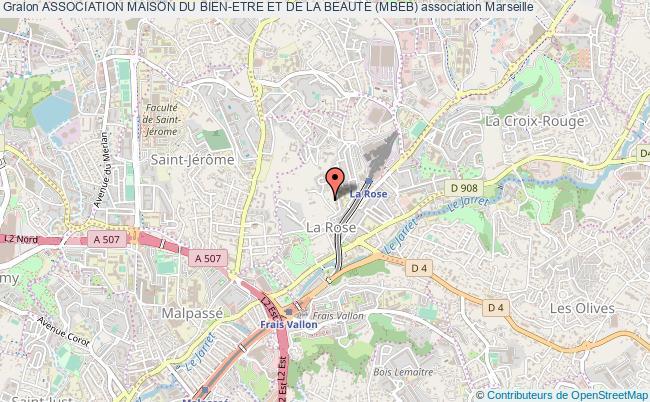 plan association Association Maison Du Bien-etre Et De La Beaute (mbeb)
