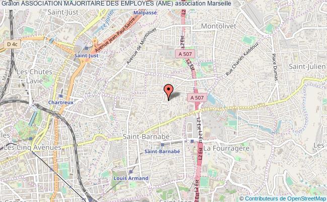 plan association Association Majoritaire Des Employes (ame) Marseille