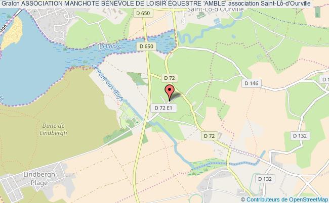 plan association Association Manchote BÉnÉvole De Loisir Équestre 'amble' Saint-Lô-d'Ourville