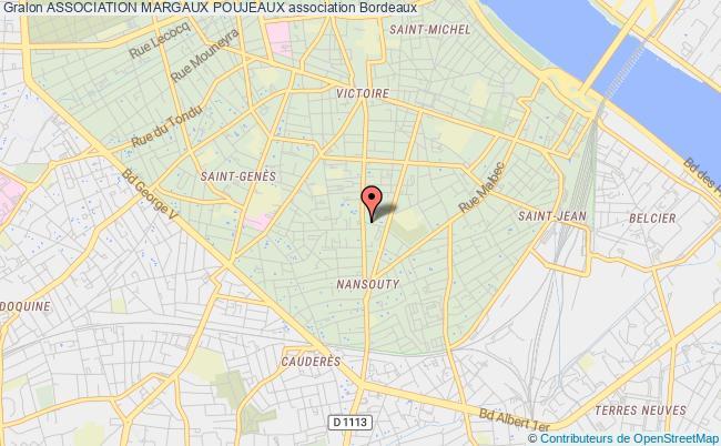 plan association Association Margaux Poujeaux