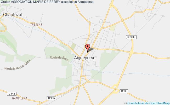 plan association Association Marie De Berry