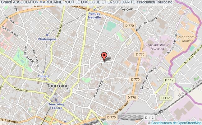 plan association Association Marocaine Pour Le Dialogue Et La Solidarite