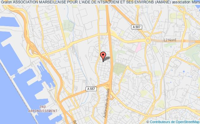 plan association Association Marseillaise Pour L'aide De Ntsaoueni Et Ses Environs (amane) Marseille