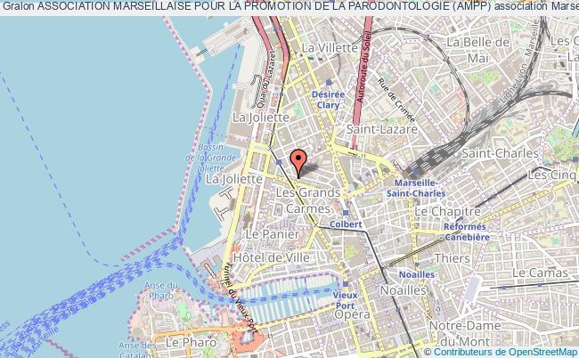 plan association Association Marseillaise Pour La Promotion De La Parodontologie (ampp) marseille