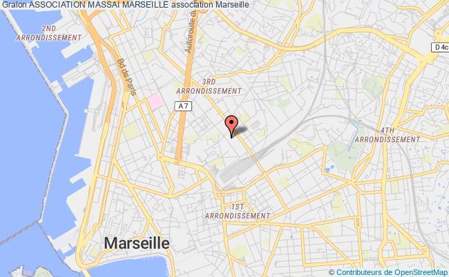plan association Association Massai Marseille