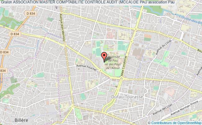 plan association Association Master Comptabilite Controle Audit (mcca) De Pau