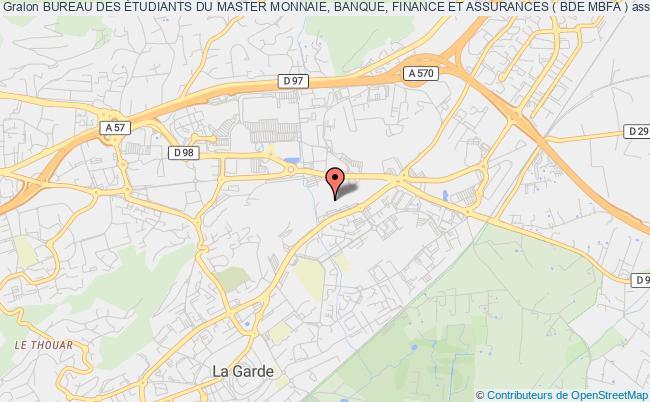 plan association Association Mbfa (association Monnaie Banque Finance Assurance)
