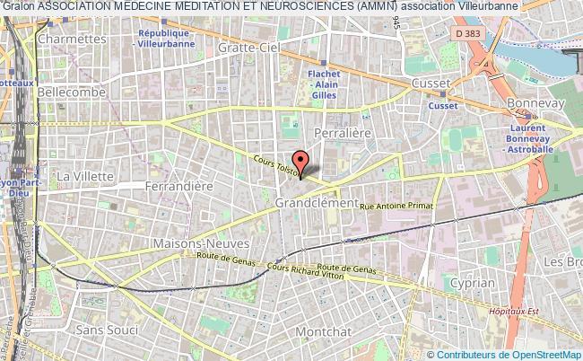 plan association Association Medecine Meditation Et Neurosciences (ammn)