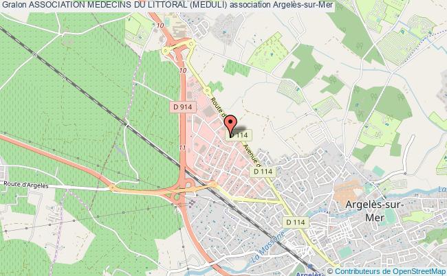 plan association Association Medecins Du Littoral (meduli)