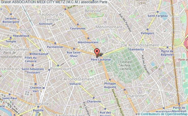 plan association Association Medi City Metz (m.c.m.)