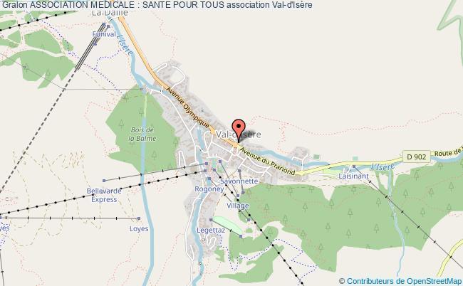 plan association Association Medicale : Sante Pour Tous