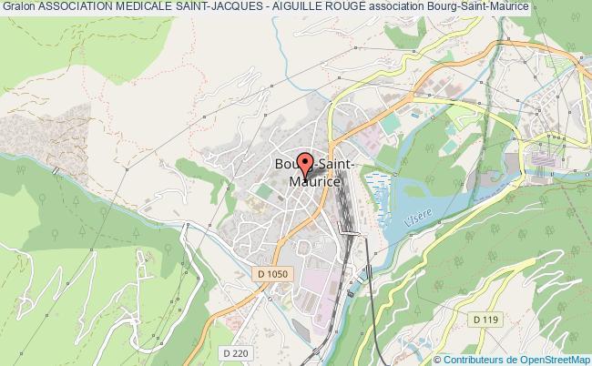 plan association Association Medicale Saint-jacques - Aiguille Rouge