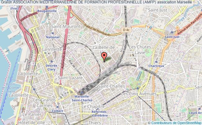 plan association Association Mediterraneenne De Formation Profesionnelle (amfp)