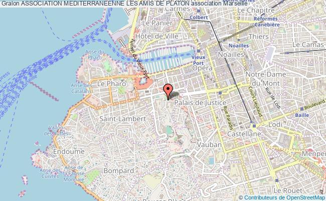 plan association Association Mediterraneenne Les Amis De Platon