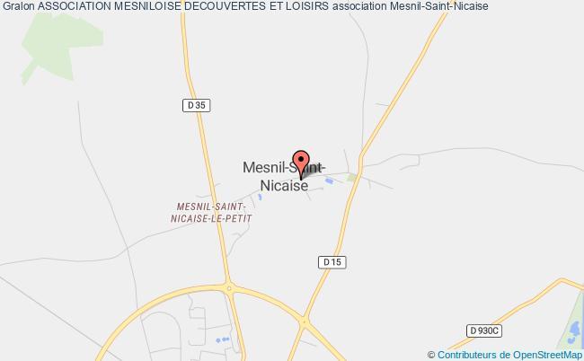 plan association Association Mesniloise Decouvertes Et Loisirs