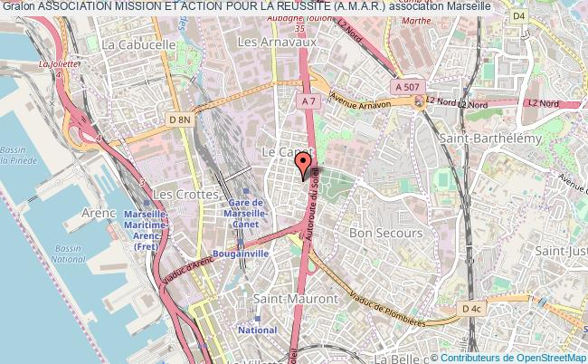 plan association Association Mission Et Action Pour La Reussite (a.m.a.r.) Marseille