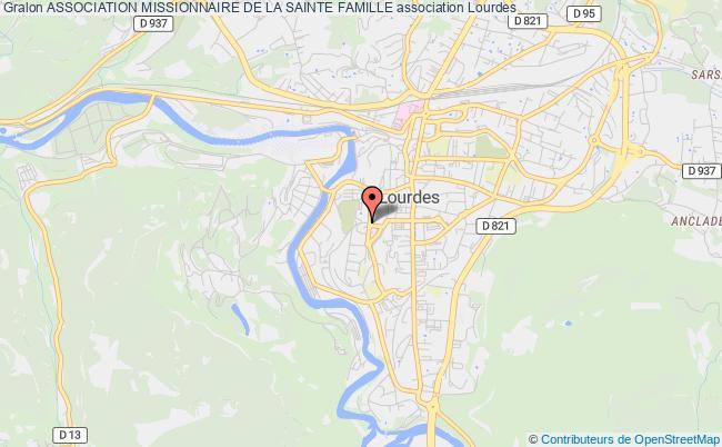 plan association Association Missionnaire De La Sainte Famille Lourdes