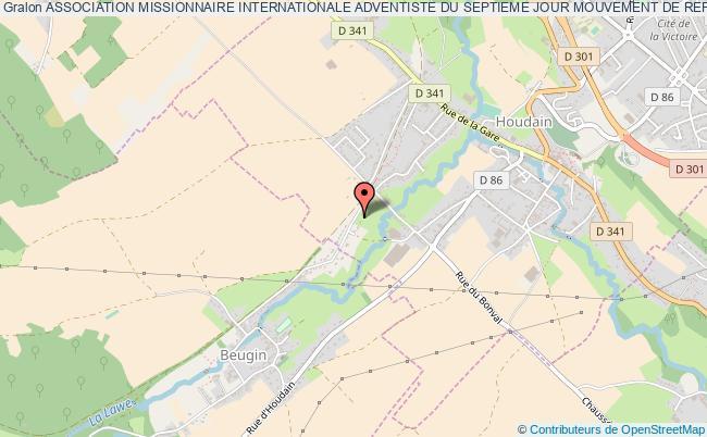 plan association Association Missionnaire Internationale Adventiste Du Septieme Jour Mouvement De Reforme Mission Francaise