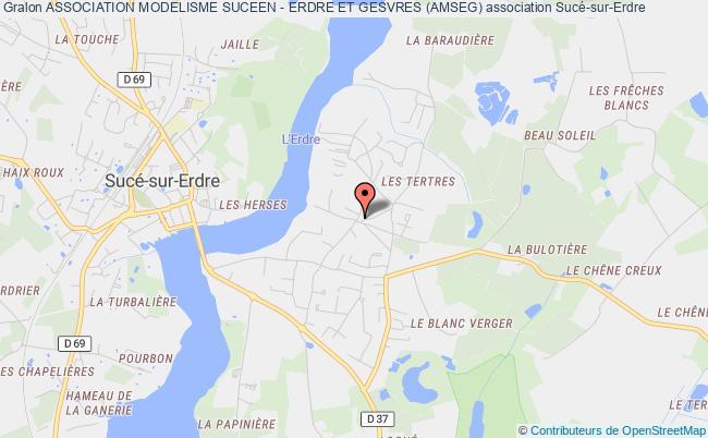 plan association Association Modelisme Suceen - Erdre Et Gesvres (amseg)