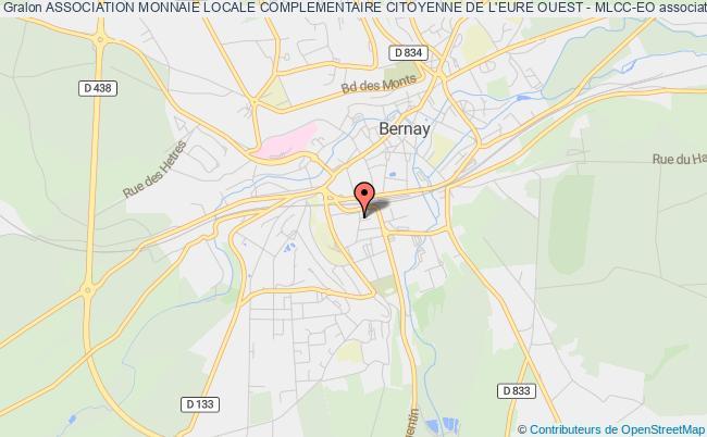 plan association Association Monnaie Locale Complementaire Citoyenne De L'eure Ouest - Mlcc-eo