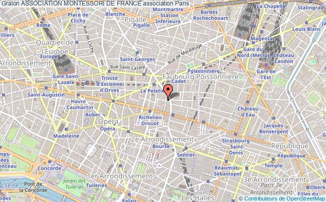 plan association Association Montessori De France