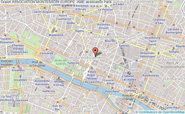 plan association Association Montessori Europe -ame