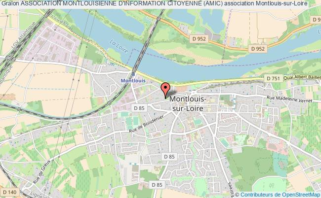 plan association Association Montlouisienne D'information Citoyenne (amic)