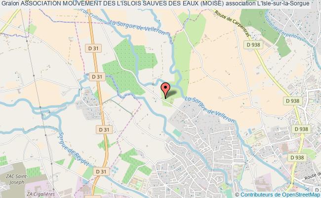 plan association Association Mouvement Des L'islois Sauves Des Eaux (moise)