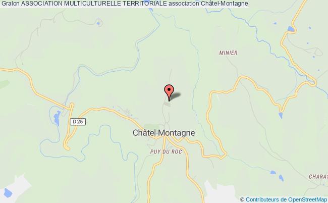 plan association Association Multiculturelle Territoriale Châtel-Montagne