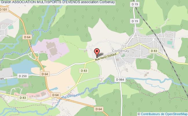 plan association Association Multisports D'evenos