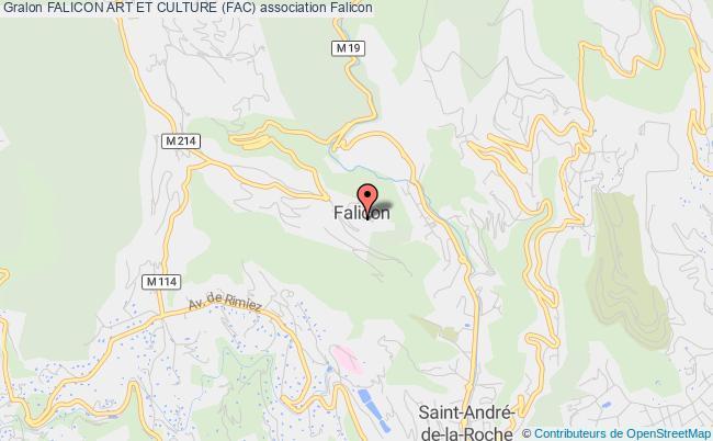 plan association Association Municipale Touristique Et Culturelle De Falicon