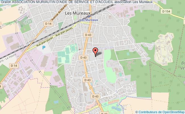 plan association Association Muriautin D'aide De Service Et D'accueil Les   Mureaux