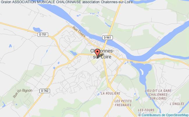 plan association Association Musicale Chalonnaise Chalonnes-sur-Loire
