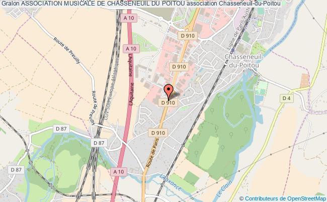 plan association Association Musicale De Chasseneuil Du Poitou Chasseneuil-du-Poitou