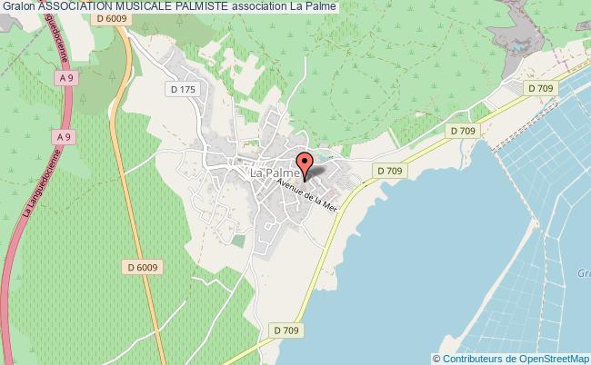 plan association Association Musicale Palmiste La    Palme