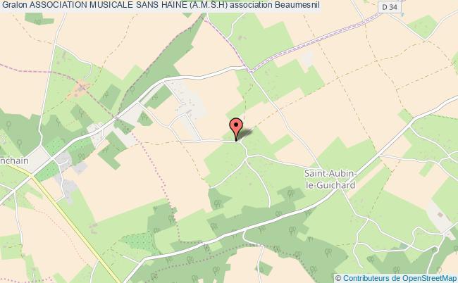 plan association Association Musicale Sans Haine (a.m.s.h)