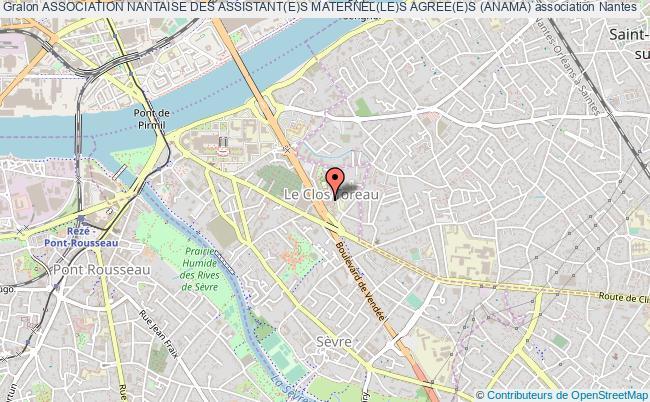 plan association Association Nantaise Des Assistant(e)s Maternel(le)s Agree(e)s (anama)