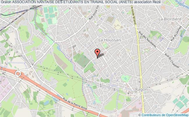 plan association Association Nantaise Des Etudiants En Travail Social (anets)
