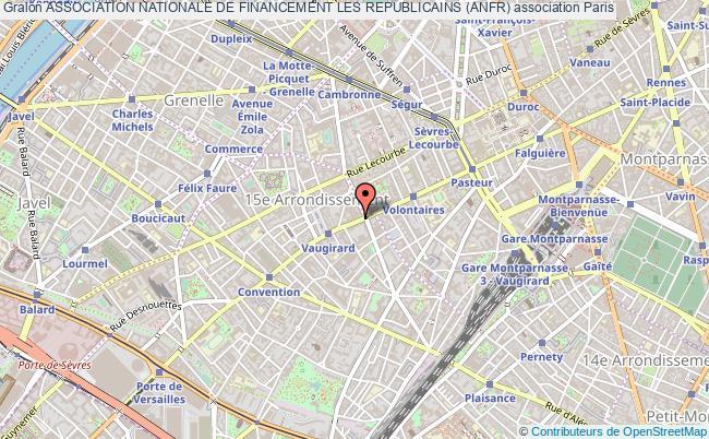 plan association Association Nationale De Financement Les Republicains (anfr) Paris