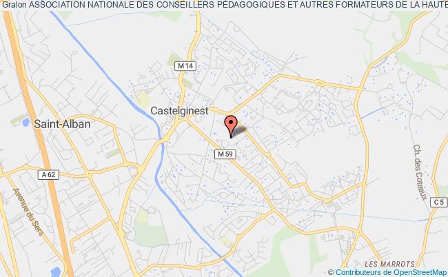plan association Association Nationale Des Conseillers PÉdagogiques Et Autres Formateurs De La Haute Garonne